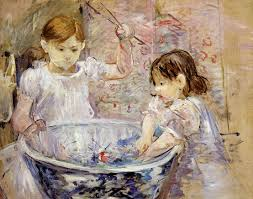 berthe morisot children with a bowl 1886 oil on canvas 73
