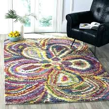 multicolored rugs multi colored striped rug lovely medium size of area awe inspiring bright braided