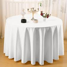 the compare s on 90 inch round white tablecloth ping with regard to 90 inch round white tablecloth decor
