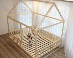 Toddler Bed, Nursery Crib, Children Bed, Montessori Bed, Kid Bed, Wood