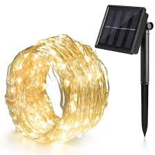 solar string lights ankway 100 led fairy lights solar powered 8 modes 39 ft bendable waterproof ip65 copper wire decorative lighting for patio garden