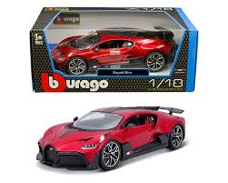 The latest bugatti divo, which will made in just 40 units, recently touched down on u.s. Bburago 1 18 Bugatti Divo Red M And J Toys Inc Die Cast Distribution