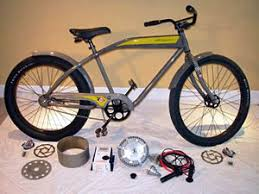 electric beach cruiser bicycle conversion