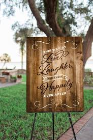 printable wedding welcome sign rustic wood sign wedding decor happily ever after