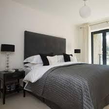 white bed black furniture. Black And White Bedroom Bed Furniture