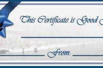 gift certificates format gift certificate format template sample gift certificates templates