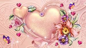 flower-pink-valentines-papillon ...