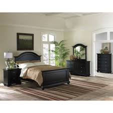 cambridge hyde park 5 piece bedroom suite in black with queen bed dresser mirror chest nightstand com