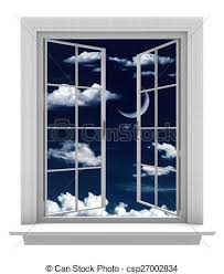 open window at night. Perfect Open Open Window On A Beautiful Night  Csp27002834 On Window At Night N