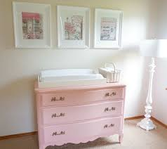 pink baby furniture. miss madelineu0027s floral nursery pink baby furniture