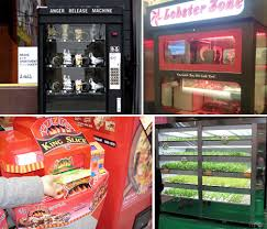 Live Crab Vending Machine Adorable Live Crabs Gold Bars IPods 48 Weird Vending Machines Urbanist