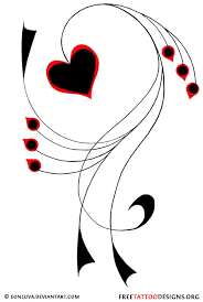 Letters For Tattoos Template Enchanting 48 Heart Tattoos Love And Sacred Heart Tattoo Designs