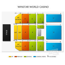 Winstar Casino Event Center Seating Chart 28 Cogent Winstar Event Center Seating Chart