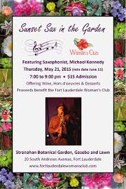 sax in the garden postcard 2016 for btsf