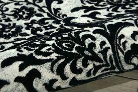 damask area rug black and white s damask area rug black and white