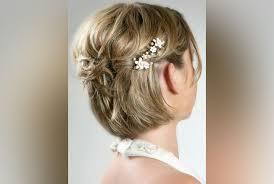 Image Coiffure Mariage Simple Cheveux Mi Long Coupe De