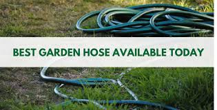 top garden hose reviews 2019 polyurethane stainless steel rubber