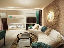Turquoise And Brown Living Room Beige Turquoise Living Room Living Room Design Ideas