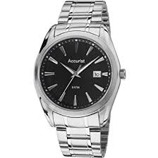 accurist mb1038n mens blue and silver tone bracelet watch amazon accurist mb1038n mens blue and silver tone bracelet watch