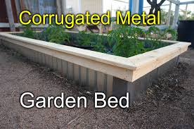 corrugated metal garden beds. Wonderful Corrugated Throughout Corrugated Metal Garden Beds E