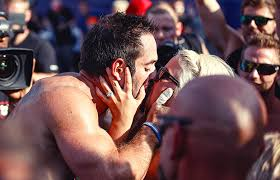 rich froning hillary froning crossfit games 2016