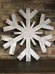 extra large wood snowflake s wood creation