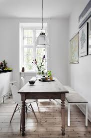 Narrow dining table with bench Trestle 10narrowdiningtablesforasmalldiningroom4 10narrowdiningtables forasmalldiningroom4 Pinterest 10 Narrow Dining Tables For Small Dining Room Dining Tables