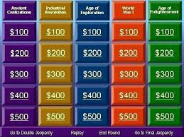 Free Jeopardy Template With Sound Jeopardy Template With Music Free Game Review W Contactory Co