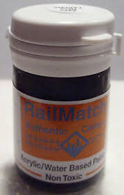 Railmatch Paints Colour Chart Details About Railmatch 2427 New Tarmac General Colour Acrylic Paint 18ml Pot