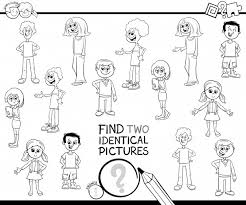Trova Due Colori Identici Per Bambini Scaricare Vettori Premium