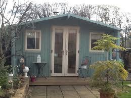 back garden office. Delighful Office Garden Office Spotlight  Cabin Master Crafting Studio  U0027 And Back O