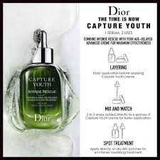 capture youth intense rescue age delay revitalizing oil serum dior sephora