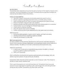 Duties Of A Sales Associate Stunning Sales Associate Description Resume Sales Associate Position Resume