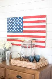 diy rustic pallet wood american flag create your own patriotic diy wall art with this