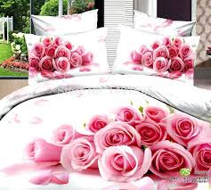roses bedding set bed suite cotton roses printing bedding set full queen king size comforter set roses bedding set
