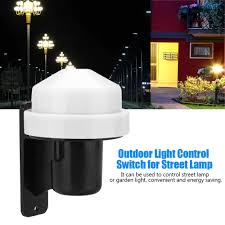 Automatic Outdoor Light Us 9 74 39 Off 10a Outdoor Light Control Switch Street Garden Lamp Switch Automatic On Off Ac 230v Outdoor High Sensitive In Switches From Lights