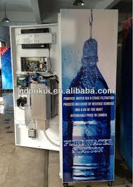 Filtered Water Vending Machine Interesting Selfservice Ro Drinking Water Vending Machine 48gpd48gpd