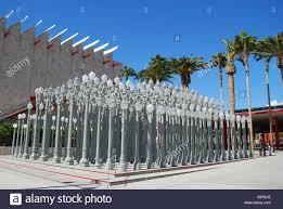 Light Poles California Urban Light Sculpture Los Angeles County Museum Of Art