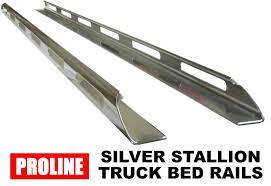Proline Silver Stallion Truck Side Bed Rails
