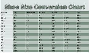 Reasonable American Shoe Chart Mens Shoes Sizing Conversion
