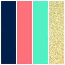 office color palettes. Office Color Palette 2015 Palettes Wedding Navy Coral Seafoam And Gold: T
