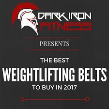 The Best Weight Lifting Belt The 6 Highest Rated Belts Of 2017
