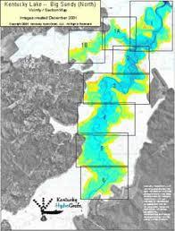 Kentucky Lake Maps