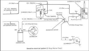borg warner truck wiring diagram wiring and diagram