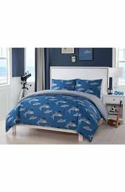 LALA + BASH Bedding   Nordstrom & LALA + BASH Chomp Shark Duvet Cover & Sham Set Adamdwight.com