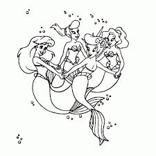 Leuk Voor Kids Ariel De Kleine Zeemeermin Kleurplaten Geweldig 78