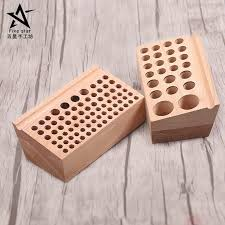 2019 diy tools solid wood storage tool rack punch printing tool storagetable cut round blunt leather engraving tools 76 hole 24 holes from gor2don