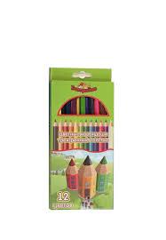<b>Набор</b> трехгр. толстых <b>цветных карандашей</b>, 12цв. K5594 ...