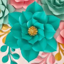 Paper Flower Designs Large Paper Flower Template Paper Flower Template Bundle
