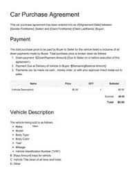 Exclusivity Agreement Template Get Free Sample